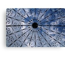 Looking Up in the Mabel Ringling Rose Garden Canvas Print