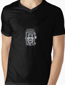 Retro Rolleiflex Design Mens V-Neck T-Shirt