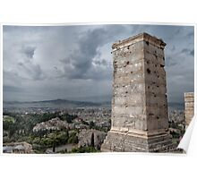 FROM ACROPOLIS, ATHENS Poster