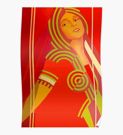 Soviet beauty Poster