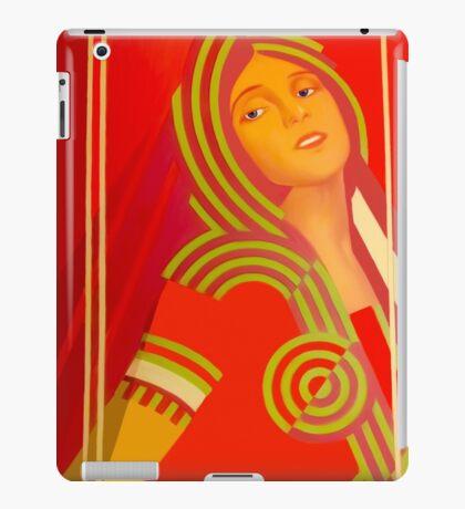 Soviet beauty iPad Case/Skin