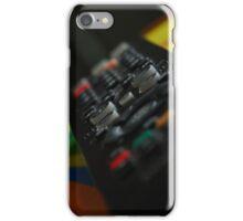 Television remote 2, colour iPhone Case/Skin