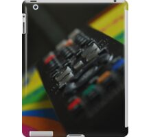 Television remote 2, colour iPad Case/Skin