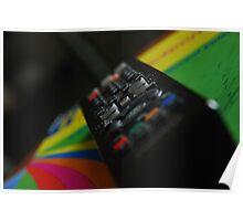 Television remote 2, colour Poster