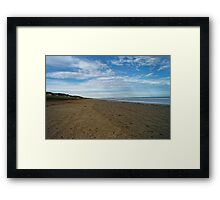 Goolwa Beach Framed Print