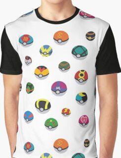 Pokeballs - Pokémon Graphic T-Shirt