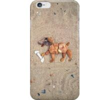 Salty Seadog found a bone! iPhone Case/Skin