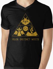 The Tripoke (Gold) Mens V-Neck T-Shirt