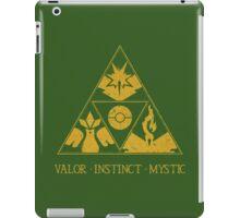 The Tripoke (Gold) iPad Case/Skin