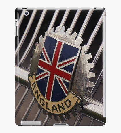 british flag, mg car iPad Case/Skin