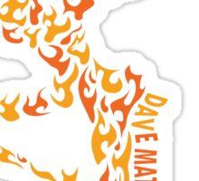 dave mathews band logos Sticker
