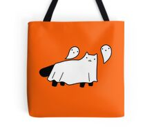 Blanket Ghost Black Cat Tote Bag