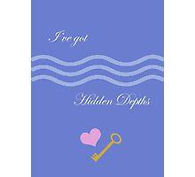 Hidden Depths Photographic Print