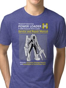 Power Loader Service and Repair Manual Tri-blend T-Shirt