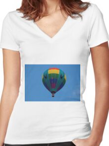H.E.R.B.  Women's Fitted V-Neck T-Shirt