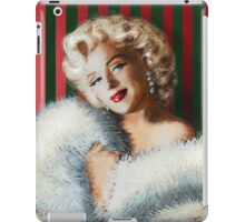 Marilyn  White Fur iPad Case/Skin