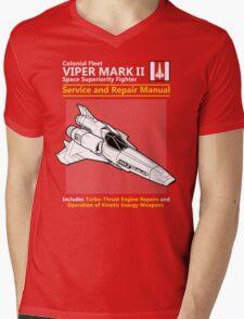 Viper Mark II Service and Repair Manual Mens V-Neck T-Shirt
