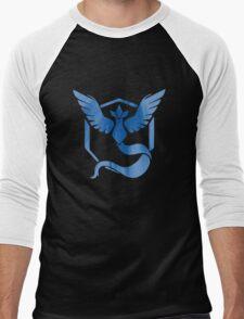 Team Mystic (Best Quality) Men's Baseball ¾ T-Shirt