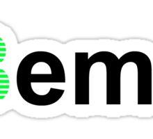 Slashed Beme (Black Edition) Sticker