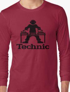 skilled dj shirt Long Sleeve T-Shirt