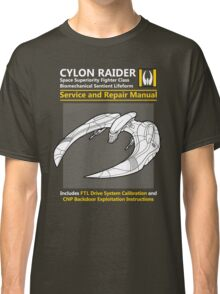 Cylon Raider Service and Repair Manual Classic T-Shirt