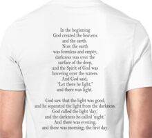 Bible, Genesis 1:1, God, Biblical, Book of Genesis, In the Beginning Unisex T-Shirt