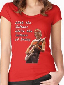 Sultans of Swing Women's Fitted Scoop T-Shirt