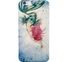 Voluptuous Mermaid Diving into Water iPhone Case/Skin