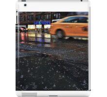 Driving in the rain iPad Case/Skin