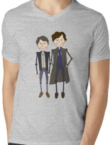 Benedict Cumberbatch's Sherlock inspired design Mens V-Neck T-Shirt