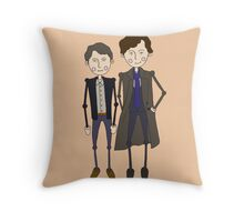 Benedict Cumberbatch's Sherlock inspired design Throw Pillow