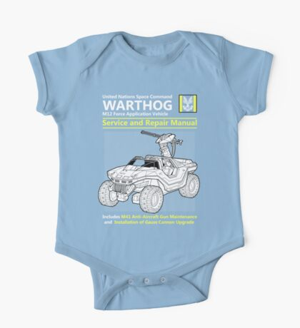 Warthog Service and Repair Manual One Piece - Short Sleeve