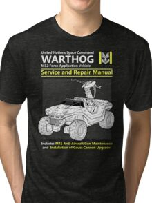 Warthog Service and Repair Manual Tri-blend T-Shirt