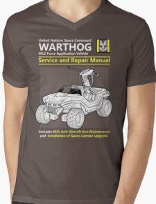 Warthog Service and Repair Manual Mens V-Neck T-Shirt