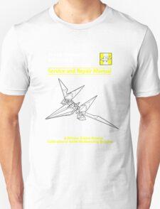 Arwing Service and Repair Manual T-Shirt