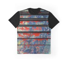 Blue Wall Graphic T-Shirt