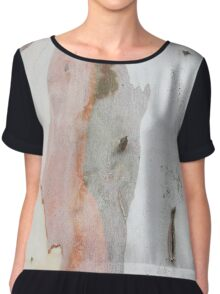 TREE, BARK, TEXTURE, color, Eco, Ecology, Nature, Natural World Chiffon Top
