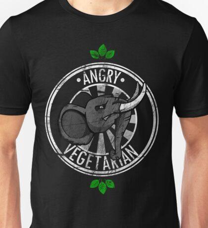 ANGRY Vegetarian Unisex T-Shirt