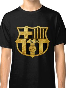 Fc Barcelona - Messi Gold Limited Edition Classic T-Shirt