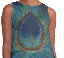 Feather Contrast Tank