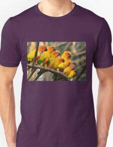 Parrots Birds Unisex T-Shirt