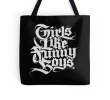 Girls Like Funny Boys 2 Tote Bag