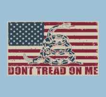 Don't Tread On Me One Piece - Short Sleeve