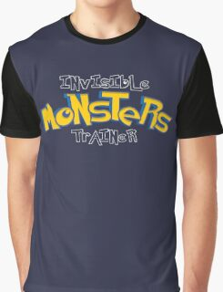 Invisible Pokemon Monsters Trainer Graphic T-Shirt