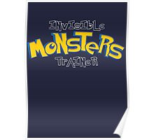Invisible Pokemon Monsters Trainer Poster