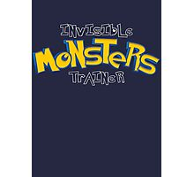 Invisible Pokemon Monsters Trainer Photographic Print