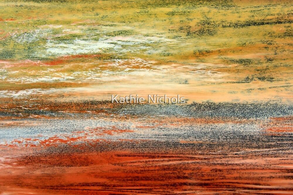 Morning Glow - Oil Pastel by Kathie Nichols