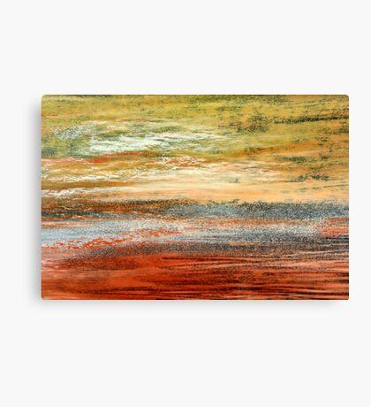 Morning Glow - Oil Pastel Canvas Print