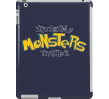Invisible Pokemon Monsters Trainer iPad Case/Skin