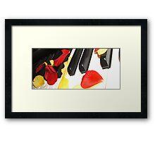 KEY PETALS Framed Print